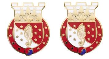 Army Crest 36th Engineer Brigade - No Motto