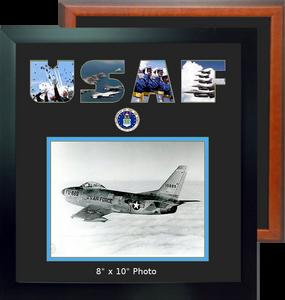 "15"" x 16"" Air Force Landscape Photo Font Frame"