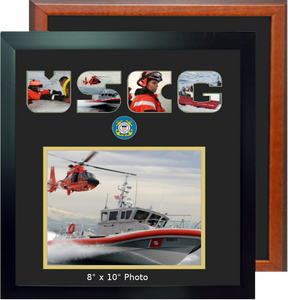 "15"" x 16"" Coast Guard Landscape Photo Font Frame"