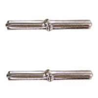 Ribbon Attachment Knot – 1 – silver