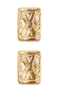 Ribbon Attachments Hourglass - gold