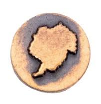 Ribbon Attachments Antarctica – bronze – each