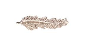 Miniature Medal Attachment Palm – 3/8 inch – silver – each