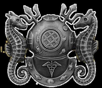 Navy Badge: Diving Medical Technician - regulation size
