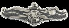 Navy Badge: Information Dominance Warfare Enlisted – oxidized