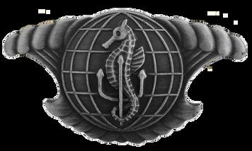 Navy Badge: Integrated Undersea Surveillance System Enlisted – regulation