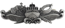 Naval Special Warfare Combatant Craft Crewman SWCC - regulation Oxidized finish