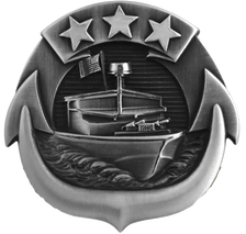 Navy Badge: Small Craft Enlisted - regulation size