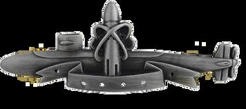 Navy Badge: SSBN Submarine Deterrent Patrol - regulation size