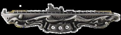 Navy Badge: Submarine Combat Patrol - regulation size