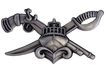 Naval Special Warfare Combatant-Craft Crewman Basic SWCC -regulation oxidized