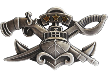Naval Special Warfare Combatant-Craft Crewman Master SWCC -regulation oxidized