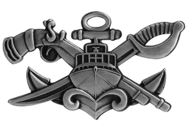 Naval Special Warfare Combatant-Craft Crewman Senior SWCC -regulation oxidized