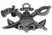 Naval Special Warfare Combatant-Craft Crewman Senior SWCC -regulation oxidized