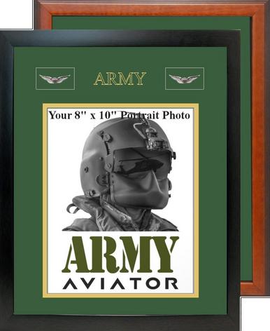 "12"" x 15"" Army Breast Badge Portrait Photo Frame"