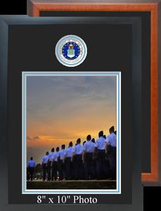 "11"" x 16"" Air Force Photo Frame w/ Top Seal"