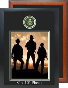"11"" x 16"" Army Photo Frame w/ Top Seal"