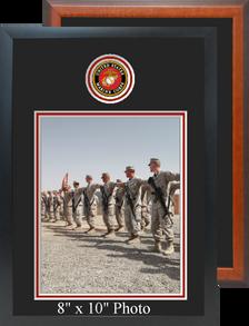 "11"" x 16"" Marine Corps Photo Frame w/ Top Seal"