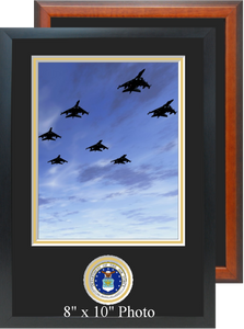 "11"" x 16"" Air Force Photo Frame w/ Bottom Seal"