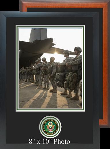 "11"" x 16"" Army Photo Frame w/ Bottom Seal"