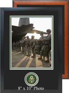 "11"" x 16"" Army Photo Frame w/ Bottom Seal"