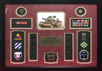 US Army Chief Warrant Officer 3 Shadow Box Display