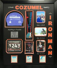 Ironman Cozumel Display Frame