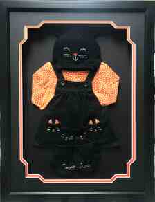 Cats Meow Halloween Memories Shadow Box Display Frame