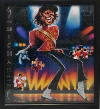 Puzzle Display Frame- Michael Jackson