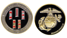 """Marine Corps Coin: Warrant Officers 1.75"""""""