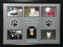 "16"" x 22"" Pet Memorial Shadow Box Frame #17"