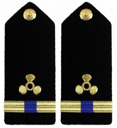 Navy Warrant Officer 4 Hard Shoulder Board- Engineering Technician