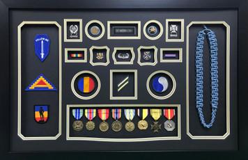 U.S. Army Infantry Shadow Box Display
