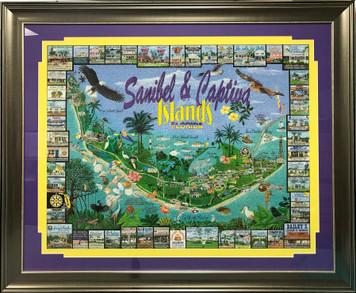 Sanibel & Captiva Island Frame Puzzle