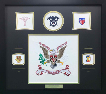 U.S. Army 340th Support Display Frame