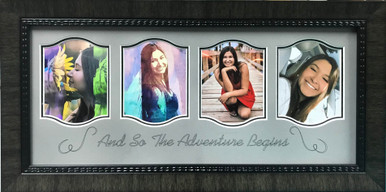 The Adventure Begins Photo Display Frame