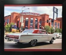 Sweet 60's Era Impala on Canvas Display Frame