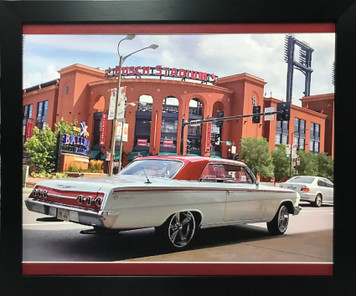 Sweet 60's Era Impala on Canvas Display Frame