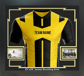 Sports Jersey Frame w/2 Landscape Photo Windows