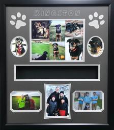 20 x 24 Pet Memorial Shadow Box Frame #2