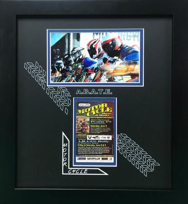 Abate Motorcycle Display Frame