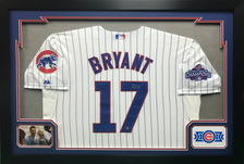 Chicago Cubs Baseball Jersey Display Frame