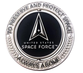 """U.S. Space Force 2"""" Spinner Challenge Coin"""