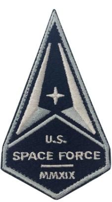 U.S. Space Force Patch - MMXIX w/hook closure