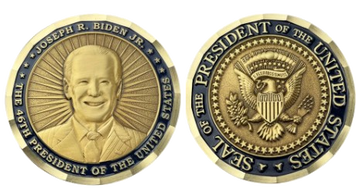 46th President of the United States Challenge Coin