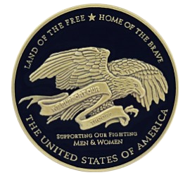 Thank You to Troops Challenge Coin