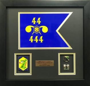 United States Army Guidon Shadow Box Display