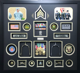 US Army Cavalry Shadow Box Display