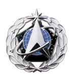 Space Force Identification Badge: Space Staff- Dress Miniature
