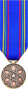 Air Force Nuclear Deterrence Operations Service Medal- 24k Gold Plated